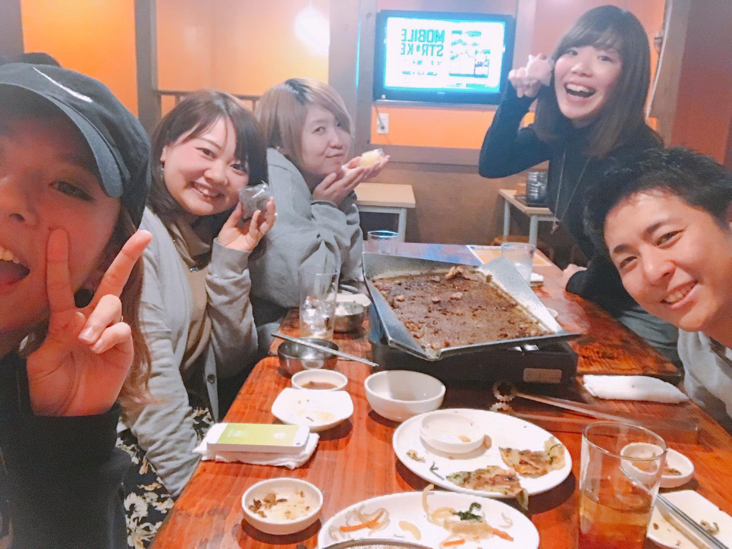 東京ダンススクールリアンスタッフ焼肉