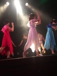 東京テーマパークダンスレッスンステージ